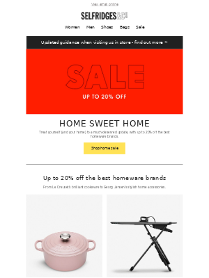 Up to 20% off the best homeware brands