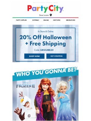 Only Hours Left for 20% Savings + Free Shipping!