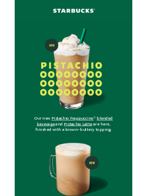 Starbucks - New year ✨ new flavors