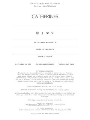 Catherines - Welcome Joy! We're so glad you're here.