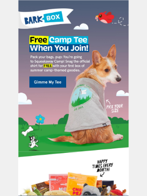 BarkBox - Is Dexter naked? 🤭 Here's a FREE shirt.