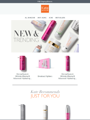 Kate Somerville Skincare - Need A Skin Refresh? Kate's Got You Covered.