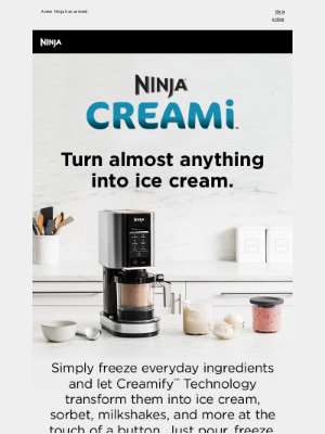 Shark Cleaning - Satisfy your summer cravings: meet the Ninja™ CREAMi™.