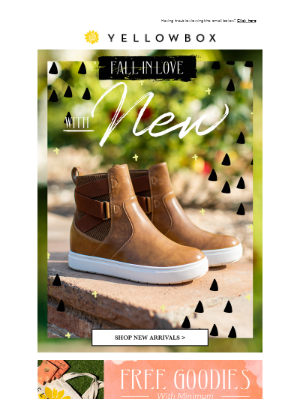 Fall In Love With New Shoes!