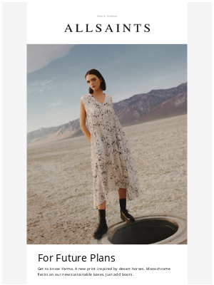 ALLSAINTS (UK) - Get to know the Yermo print