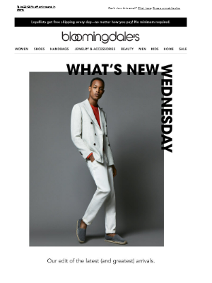 What's New Wednesday for men