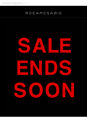 Rosamosario - 72HRS LEFT FOR SUMMER CLEARANCE ... SALES ROOM ONLY !