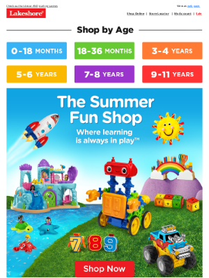 Lakeshore Learning - 😲 Look at All These Summer Must-Haves!