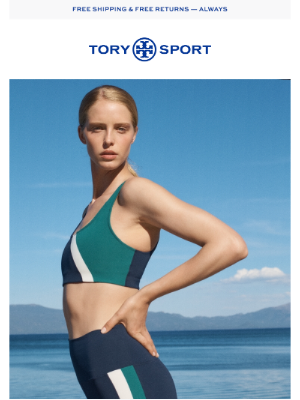 Tory Burch - On the move