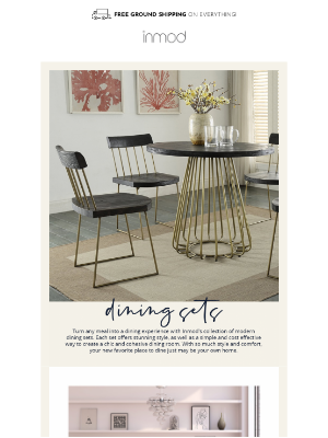 Inmod - Dining sets, don't mind if we do!