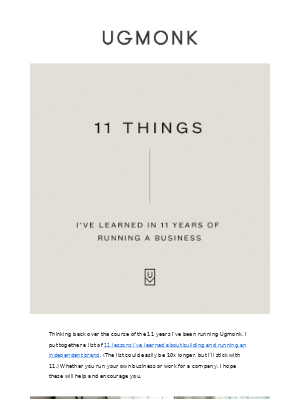 11 Things I've Learned in 11 Years of Running a Business