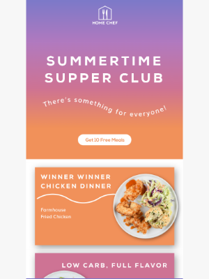 Home Chef - Something tasty for everyone