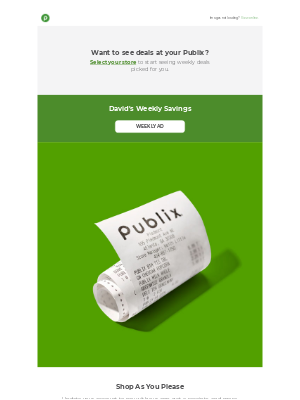 Publix Super Markets - Make shopping easier on every trip