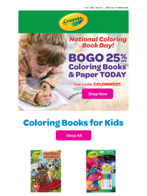 Coloring Book 1-Day DEAL 📚🖍️