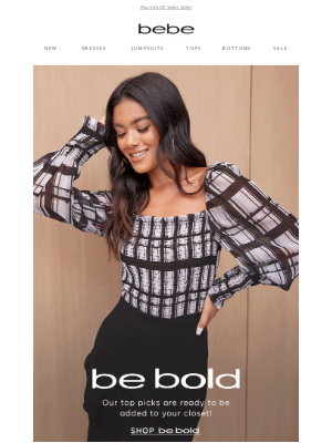 bebe - Be Bold In Stunning Fall Looks