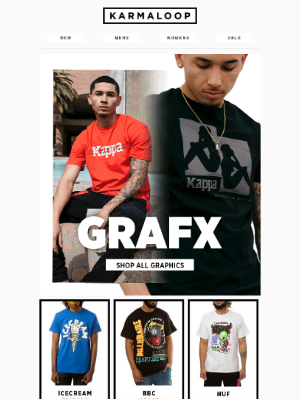 Karmaloop - This email contains graphic content