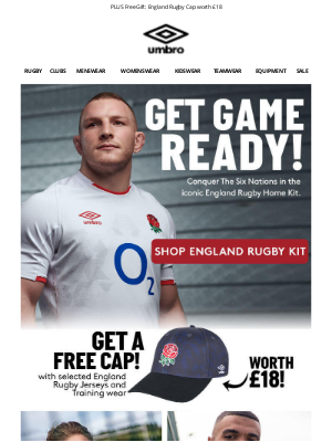 Umbro (UK) - Conquer The Six Nations | England Rugby