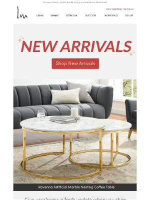 Lexmod - ❇️ The Ravenna Coffee Table + More New Arrivals