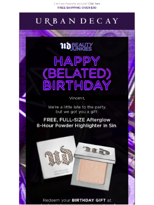 Your Birthday Is About to Get Next-Level