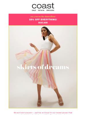 Coast Stores (UK) - Skirt dreams come true