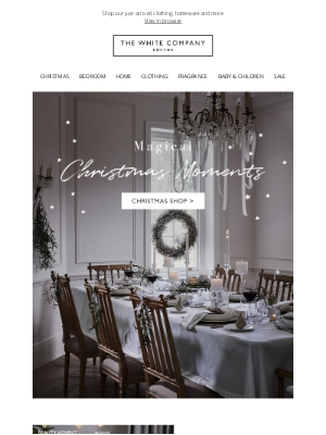 The White Company - Our new Christmas collection is here!