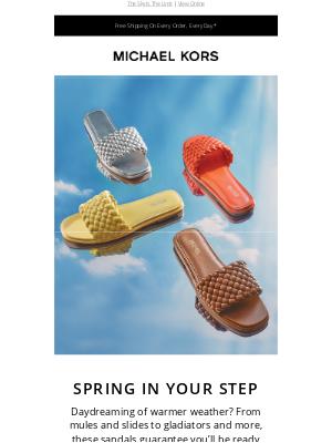 Get Ready For Sandal Season