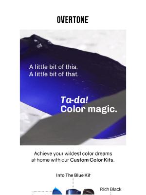 oVertone - Here's an Idea 💡 Custom Hair Color 👏