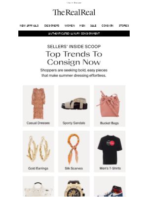 The Top Trends To Sell Now
