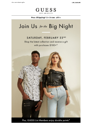 Join Us | The Big Night
