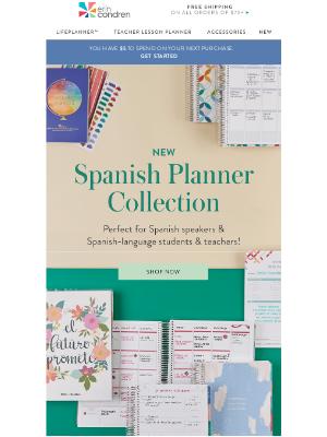Erin Condren - ✨NUEVO Spanish Planner Collection✨