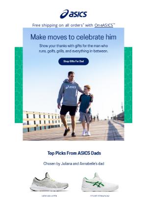 ASICS - Make moves to celebrate Dad