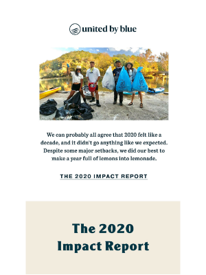 United By Blue - The 2020 Impact Report is In