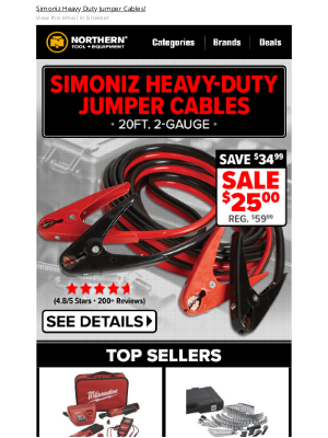 Northern Tool + Equipment - Featured Deal: Save $34.99 On This Top Seller!