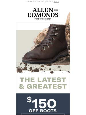 Allen Edmonds - Can't Miss Deals on the Latest & Greatest