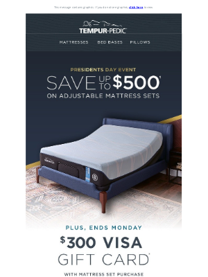 Tempur-Pedic - Limited-time—save up to $500