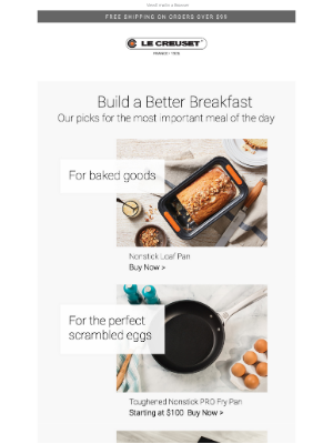 Le Creuset - Start Your Day with Le Creuset