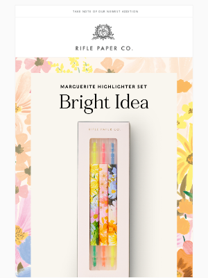 Rifle Paper Co. - Bright Idea: Highlighters