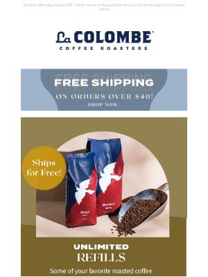 La Colombe Coffee Roasters - Need a Refill? ☕