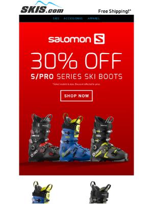 Skis - BOOT SALE // 30% OFF Salomon S/Pro Series
