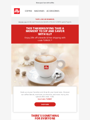 illy - Give the Gift of illy | 20% Off + Free Shipping