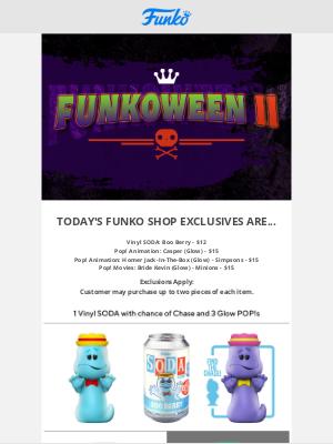 Funko - New Items on Funko Shop!