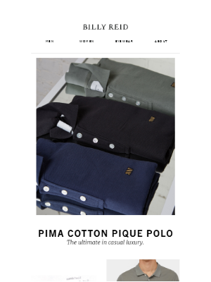 The Pima Cotton Pique Polo