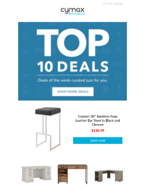 Cymax - Top 10 Deals of the Week