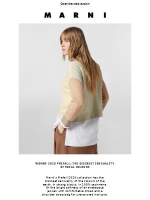 Women 2020 Prefall: the discreet sensuality of tonal colours