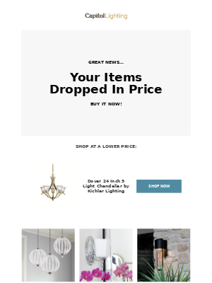 [Alert] New Low Prices On The Styles You Love
