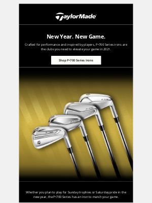 TaylorMade Golf - New Year's Resolution: Play Better Golf