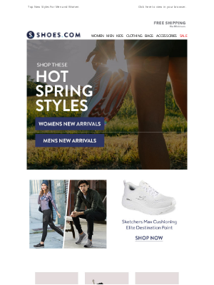 SHOES - New Styles For Spring + FREE SHIPPING!