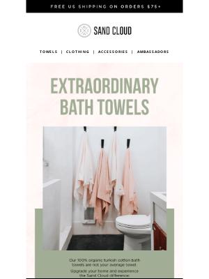 Sand Cloud Towels - Not your average bath towel...