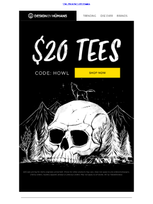 $20 Tees Are Back! 🙌