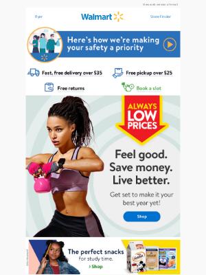 Walmart (CA) - Get set to make it your best year yet 🙌